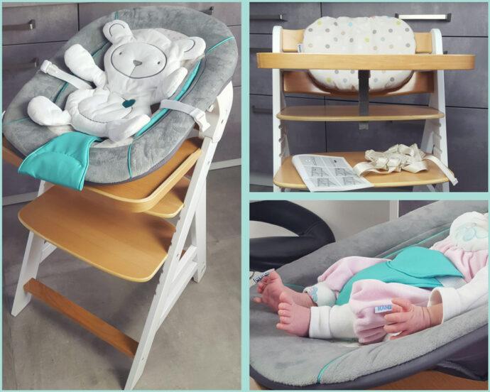 hauck beta plus hochstuhl newborn set test erfahrungen neugeborenenaufsatz