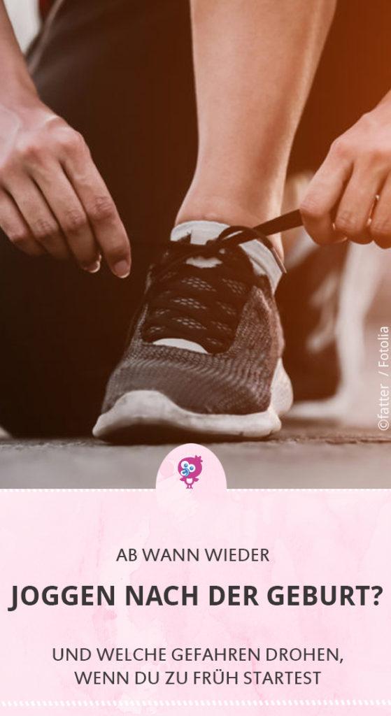 Ab wann Joggen nach der Geburt Schwangerschaft #joggen #geburt #sport