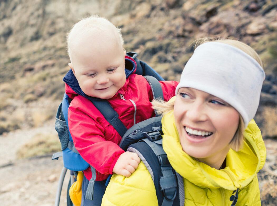 wandern mit kleinkind tipps infos wanderung mit kindern