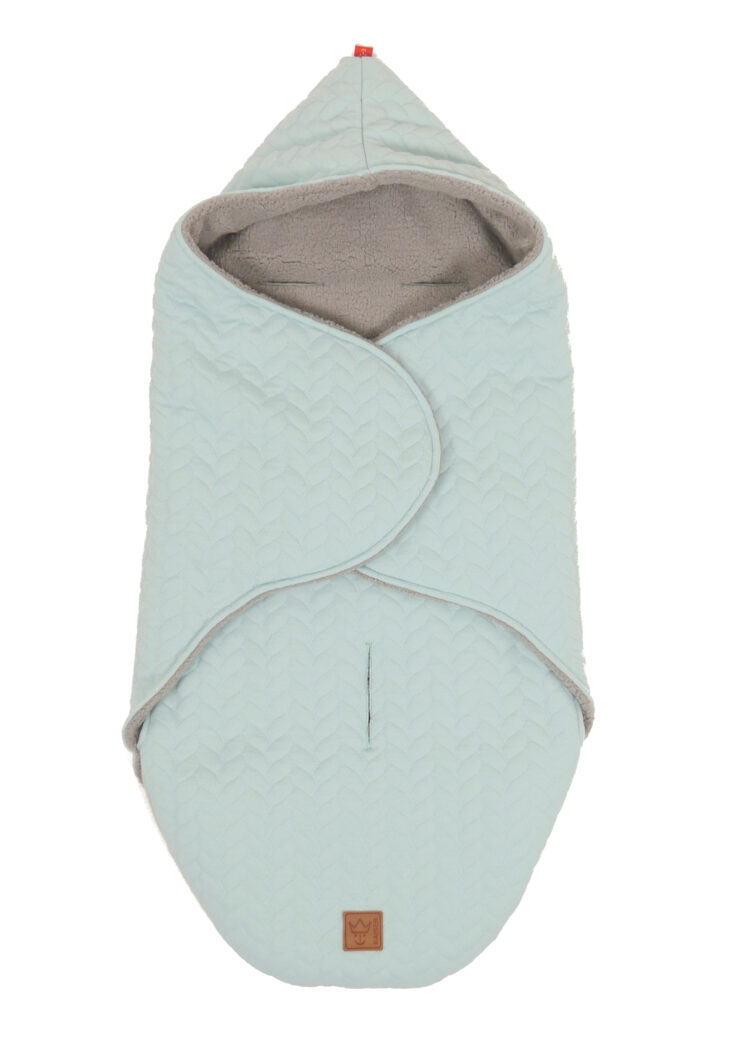 Kaiser Einschlagdecke Wrappy Knit Mint