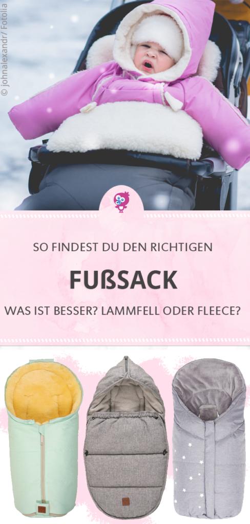 Fußsack für Babyschale und Kinderwagen so findest Du den richtigen #fußsack #winter #baby