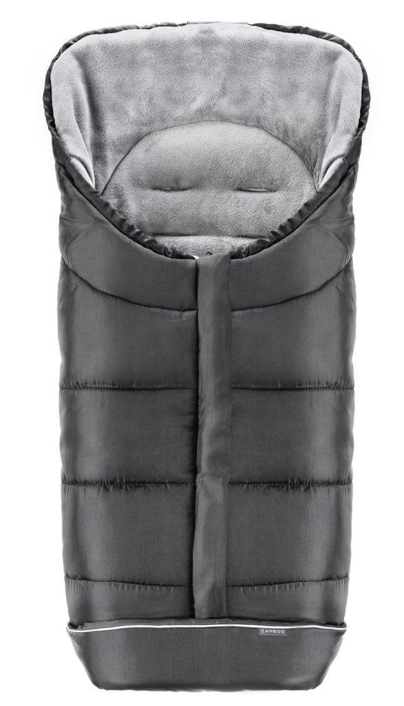 zamboo wattierter thermo fleece fußsack günstig