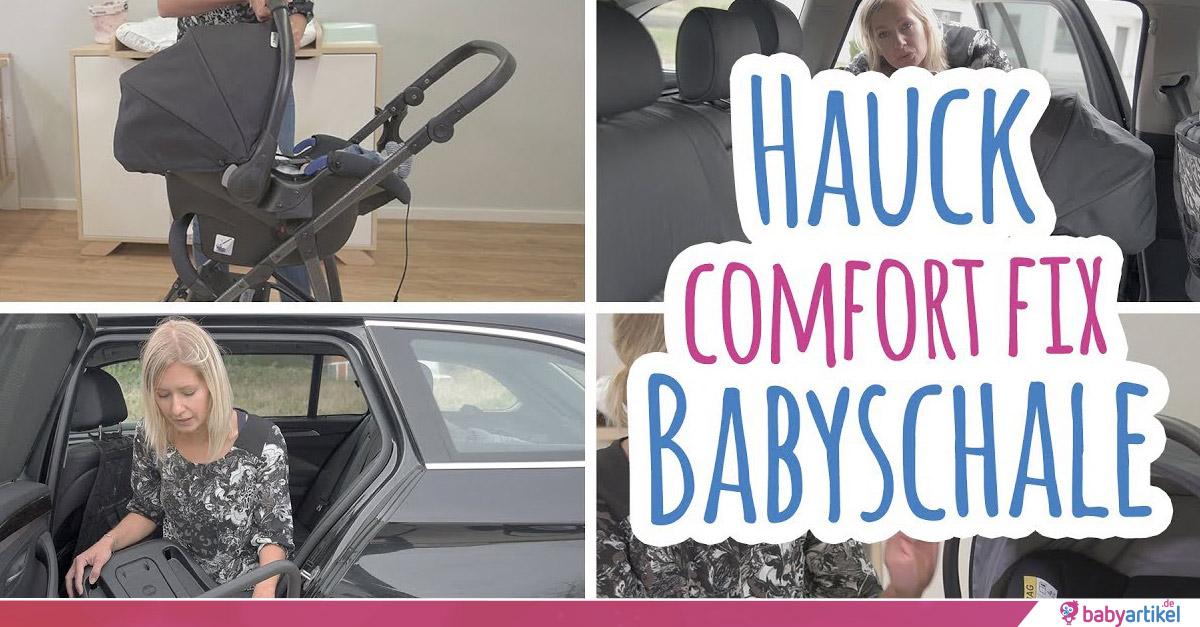 babyschale hauck comfort fix isofix basis test und. Black Bedroom Furniture Sets. Home Design Ideas