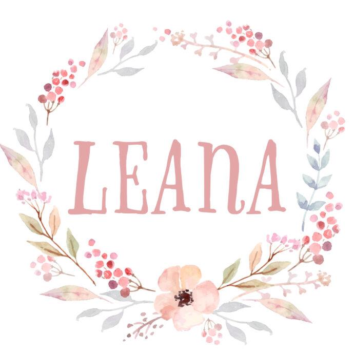 Trend Vornamen Baby Leana