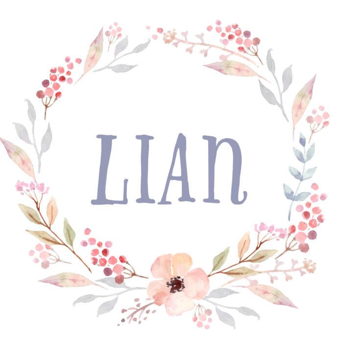 Trend Vornamen Lian