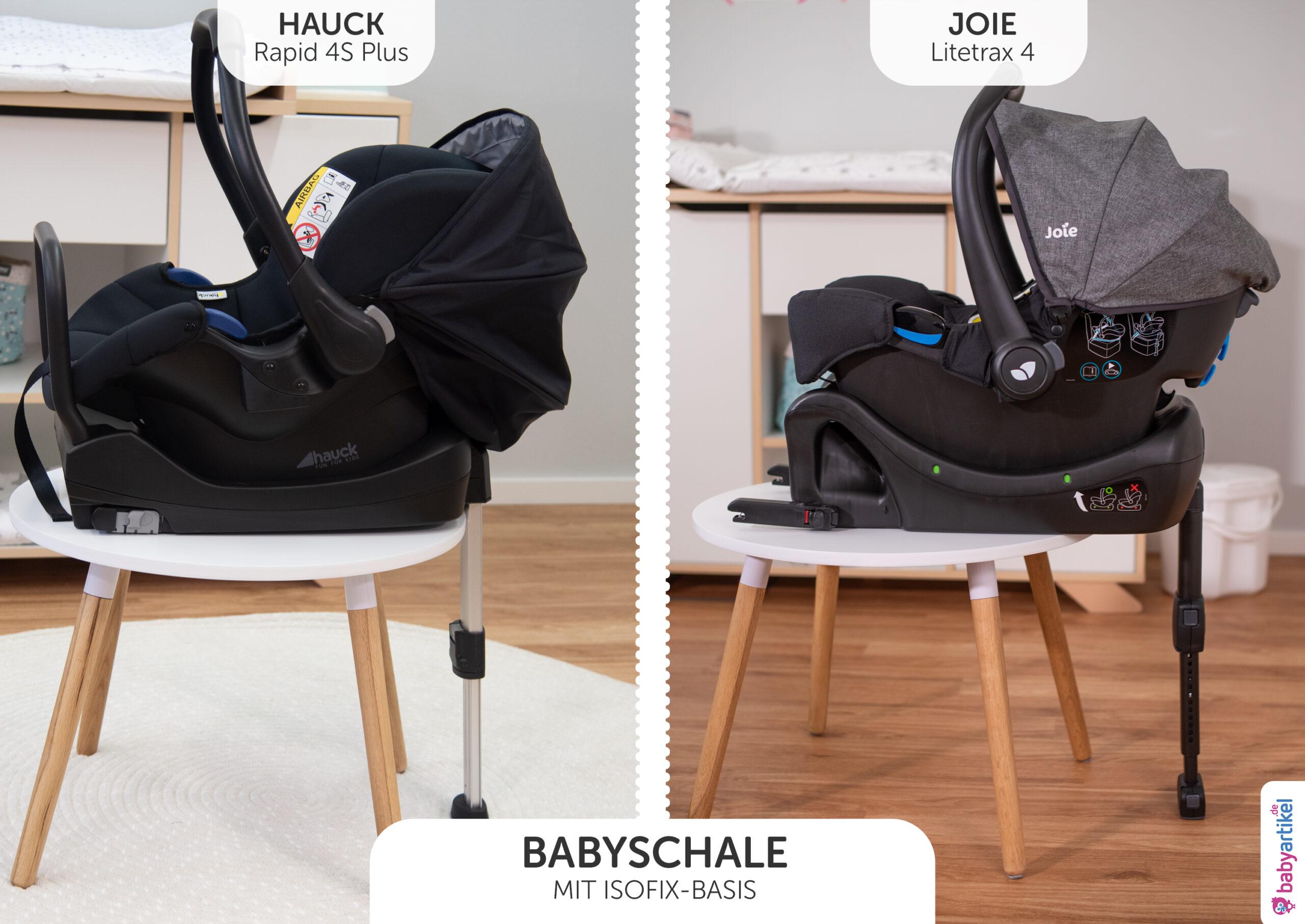 babyschale mit Isofix-basis