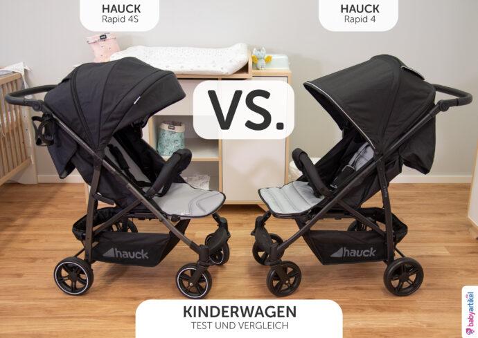 hauck rapid 4 oder 4S Erfahrungen Buggy Vergleich Kinderwagen 3 in 1 Set