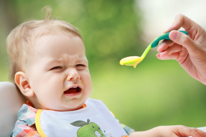 baby mag keinen brei, baby will keinen brei essen, baby schlechter esser, baby will nur milch