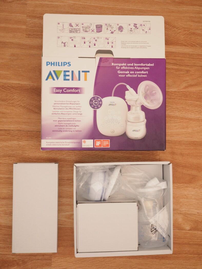 avent easy comfort test elektrische milchpumpe test