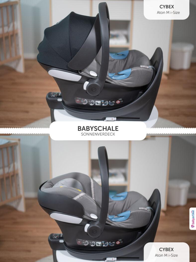 i-Size Babyschale, i-Size-babyschale test,cybex aton m i-size