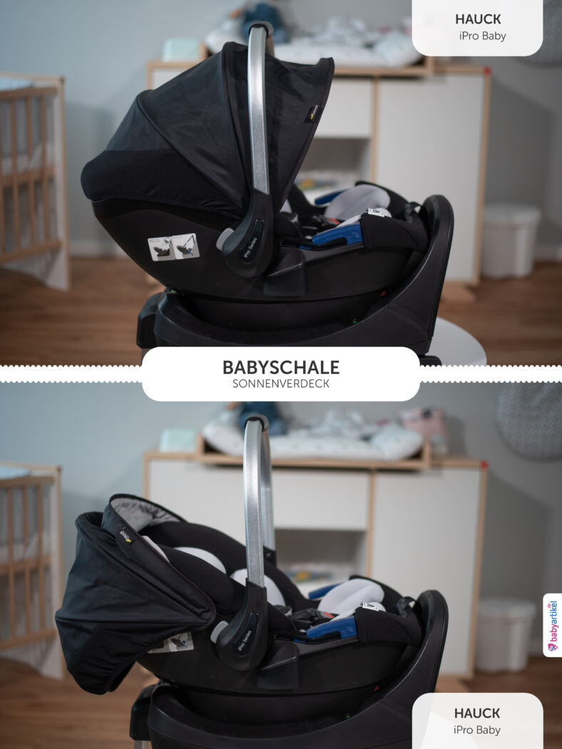 i-size Babyschale, i-size Babyschale Test, i-size reboarder, hauck iPro Baby