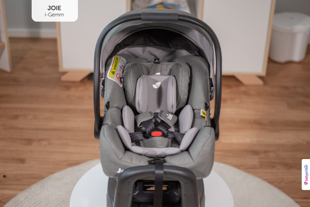 i-Size Babyschale, i-Size-babyschale test, joie i-gemm