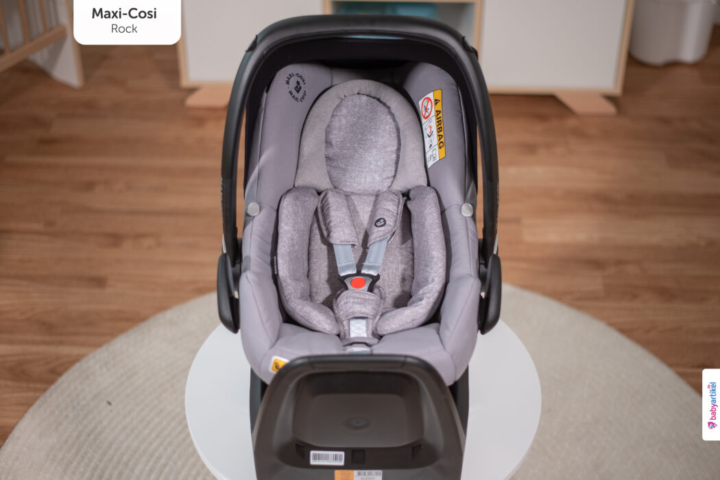 i-Size Babyschale, i-Size-babyschale test, maxi-cosi rock