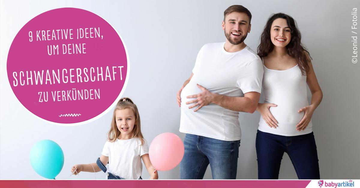 Schwangerschaft Verkünden 9 Originelle Ideen Babyartikel