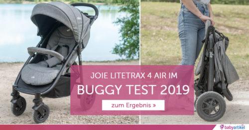 joie litetrax 4 air im buggy test 2019. Black Bedroom Furniture Sets. Home Design Ideas