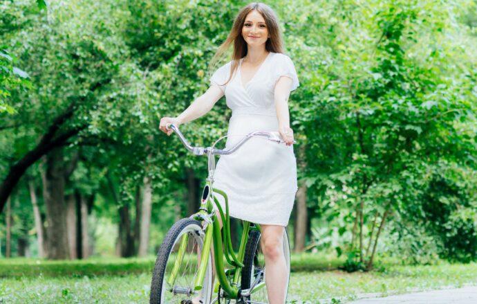 schwanger fahrradfahren wie lange, fahrrad fahren schwangerschaft radfahren kopfsteinpflaster gefährlich