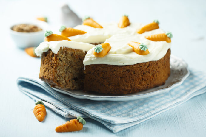 rezept zuckerfreier karottenkuchen fuer kleinkinder carrot cake zuckerfrei kindergeburtstag ostern