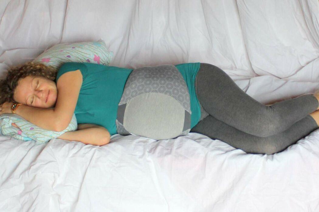 Babymoov Dream Belt Test Erfahrungen Schwangerschafts Bauchgurt schlafen Schwangerschaftsgürtel Schlafstörungen Schwangerschaft