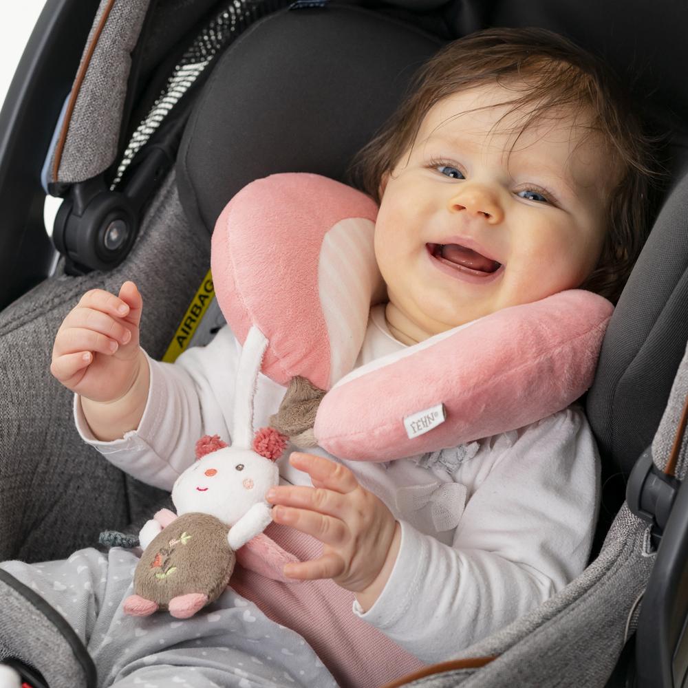 Nackenkissen Baby Auto Kindersitz Nackenhörnchen Polster Autofahren Baby Autofahrt