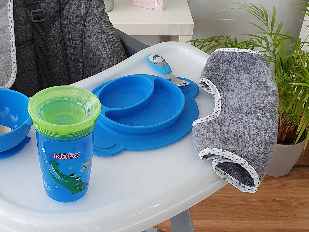 Nuby-Wonder-Cup Trinklernbecher mit Auslaufschutz