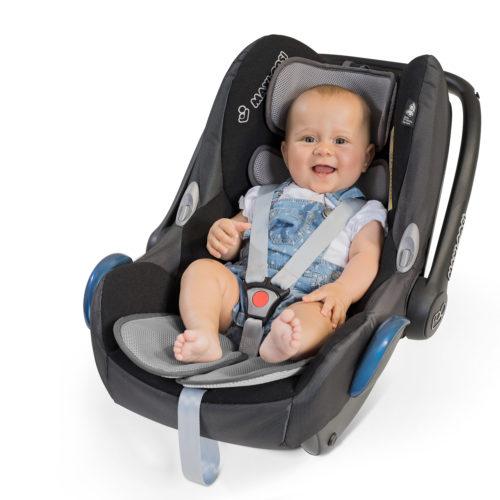 Sommer Sitzauflage Babyschale Maxi Cosi Sommerbezug Zamboo Autofahren mit Baby im Sommer