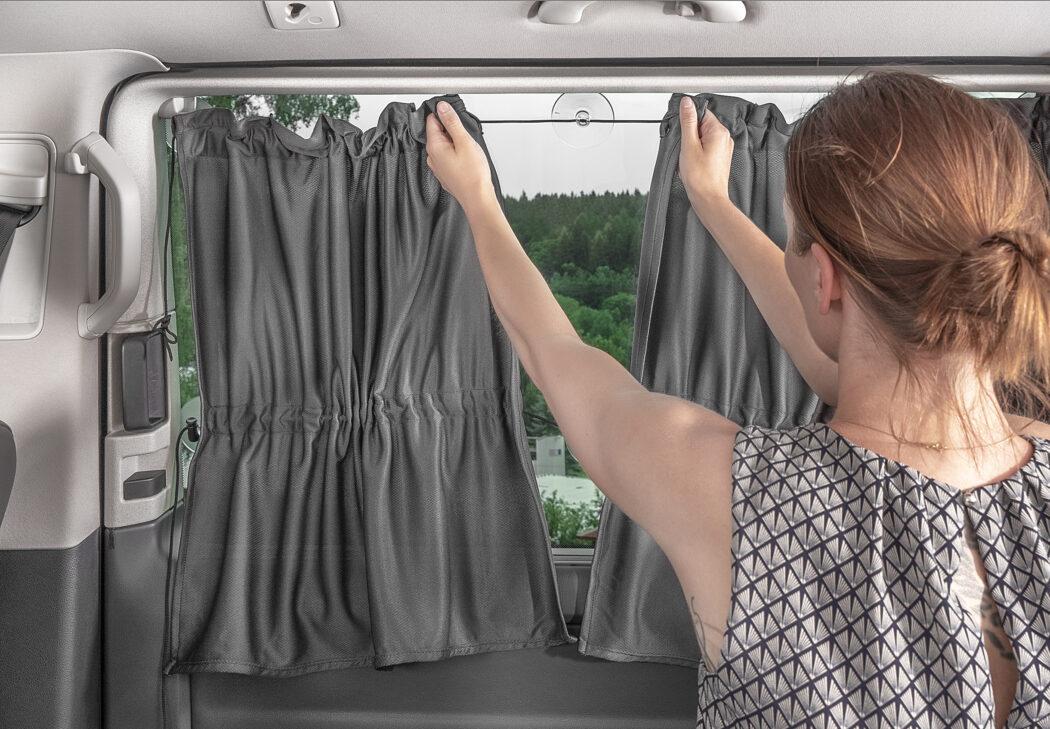 Sonnenschutz Seitenscheiben Kleinbus Van Bus Fensterscheibe Autofahren mit Baby im Sommer