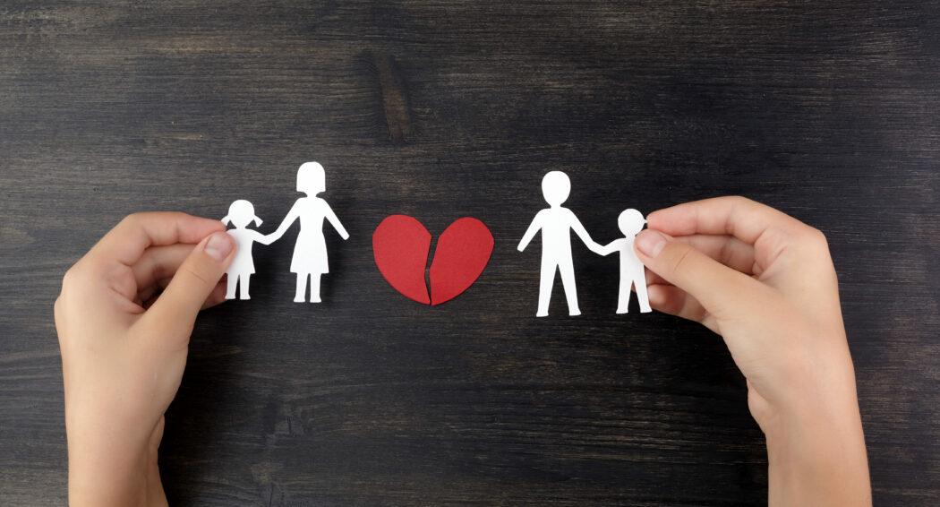 Trennung und Untersützung, Hilfe für Alleinerziehende, Trennung mit Kindern
