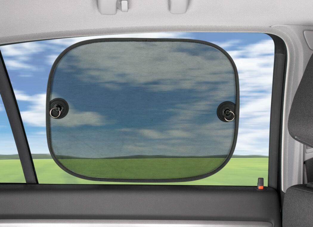 Sonnenschutz Blende Auto Scheibe Fenster Sommer Urlaub Reise Autofahrt Autofahren mit Baby im Sommer