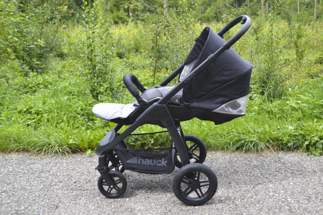 Hauck Saturn R Liegeposition Kinderwagen Test