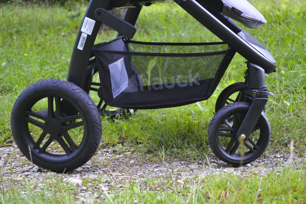 Hauck Saturn R Test Kinderwagen  Testsieger Stiftung Warentest Luftkammerräder Einkaufskorb