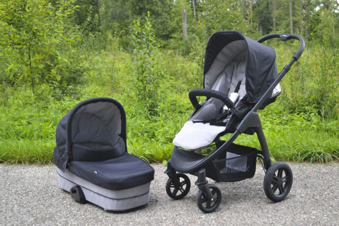Hauck Saturn R Test Kinderwagen