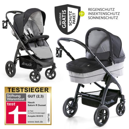 Kinderwagen Test 2019 Stiftung Warentest Testsieger Hauck Saturn R Duoset bester Kinderwagen