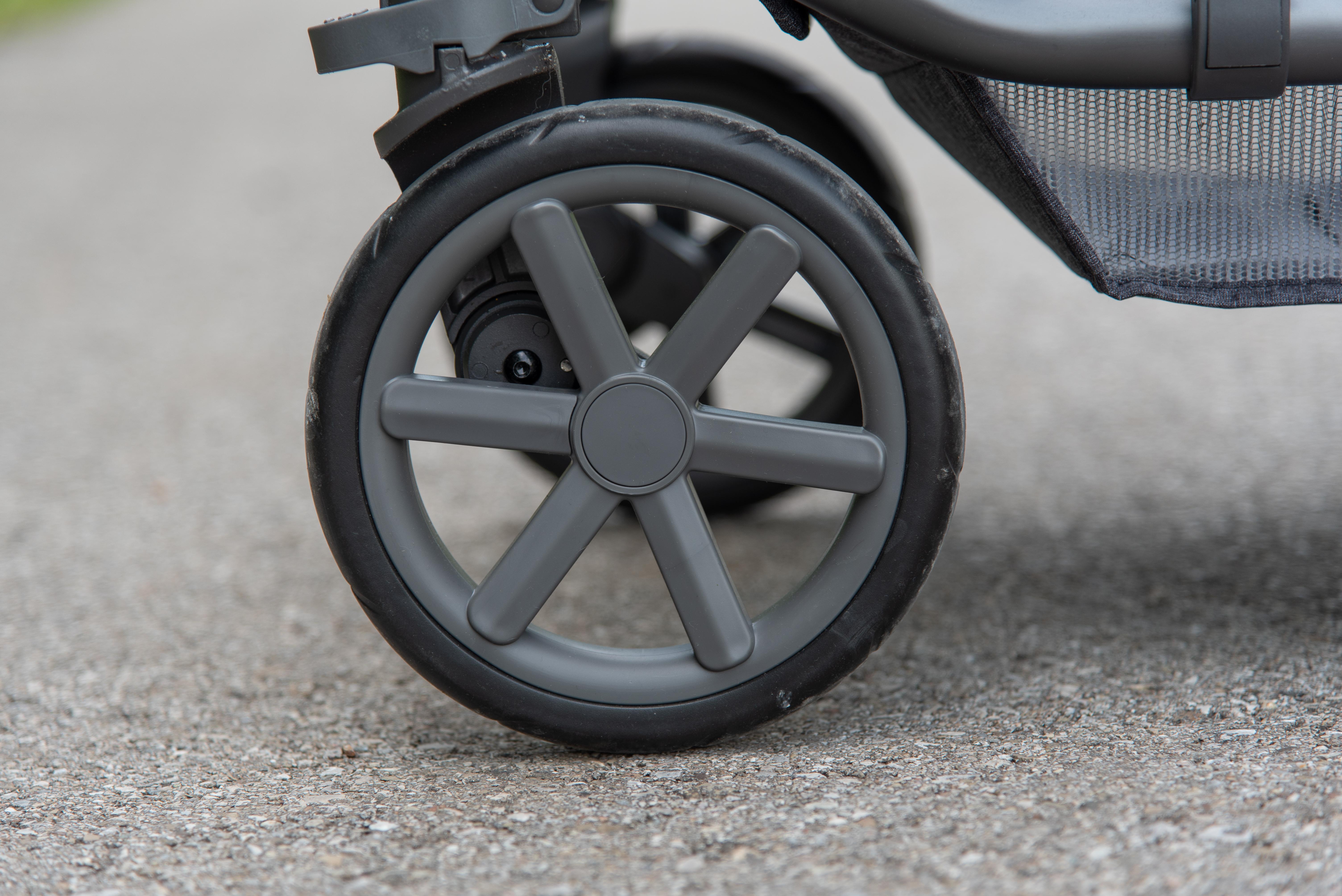 ABC Design Condor 4 Kombi-Kinderwagen: Luftkammerräder
