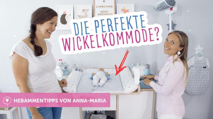 wickeltisch organisieren, wickelkommode einrichten, hebammentipps babyartikel.de