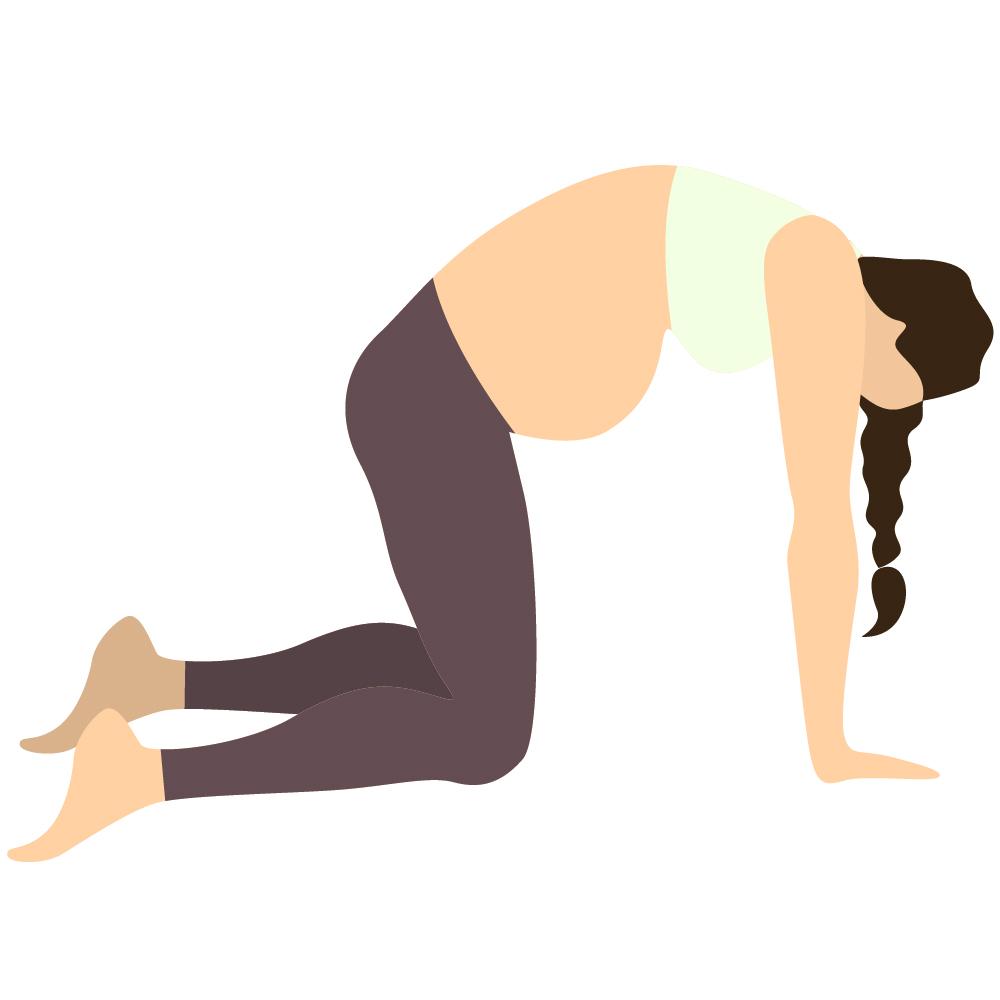 Beckenbodentraining schwangerschaft übungen yoga