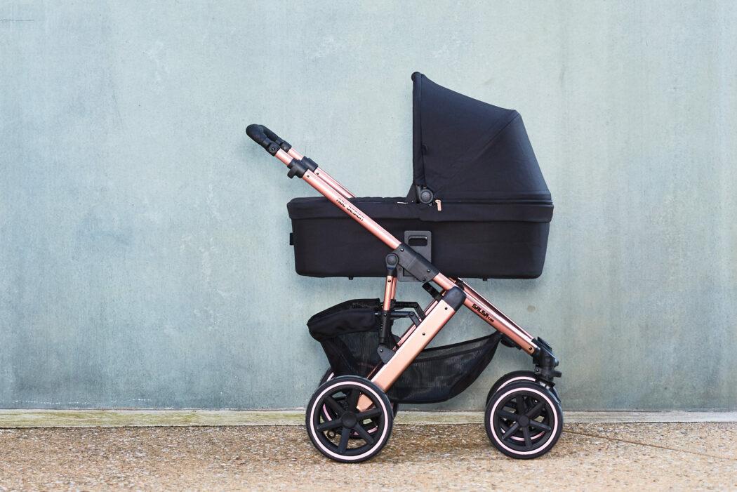 ABC Design Kombi-Kinderwagen Salsa 4 Air - inkl. Babywanne & Sportsitz - Diamond Edition - Rose Gold - Kollektion 2020