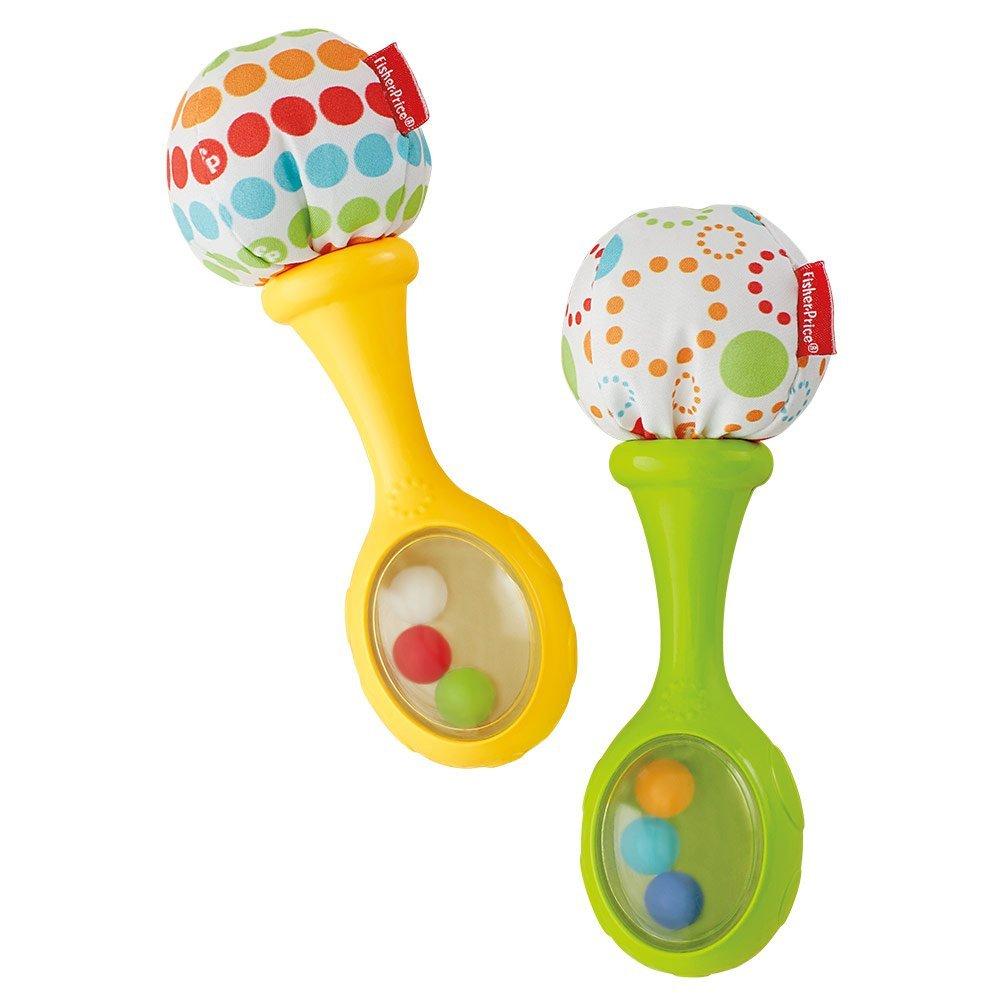 Spielzeug ab 6 Monate Rumba Rasseln