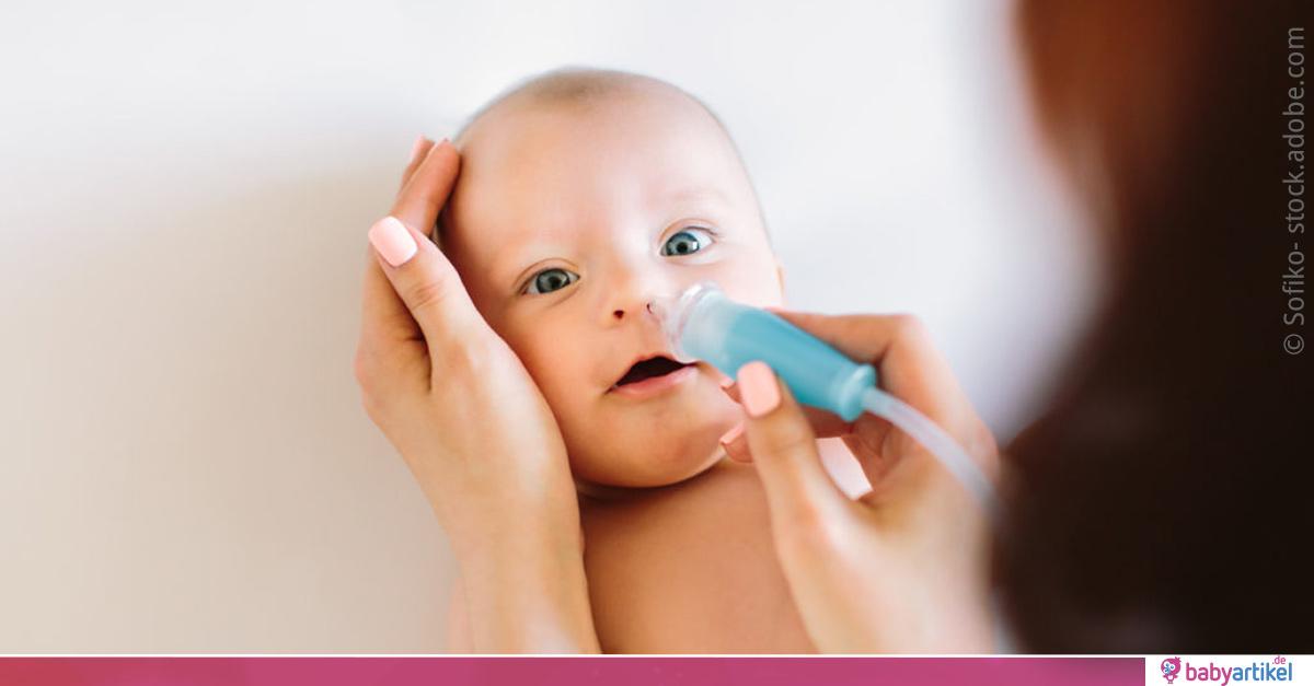 Verstopfte Nase bei Babys: Ursachen und Behandlung ...