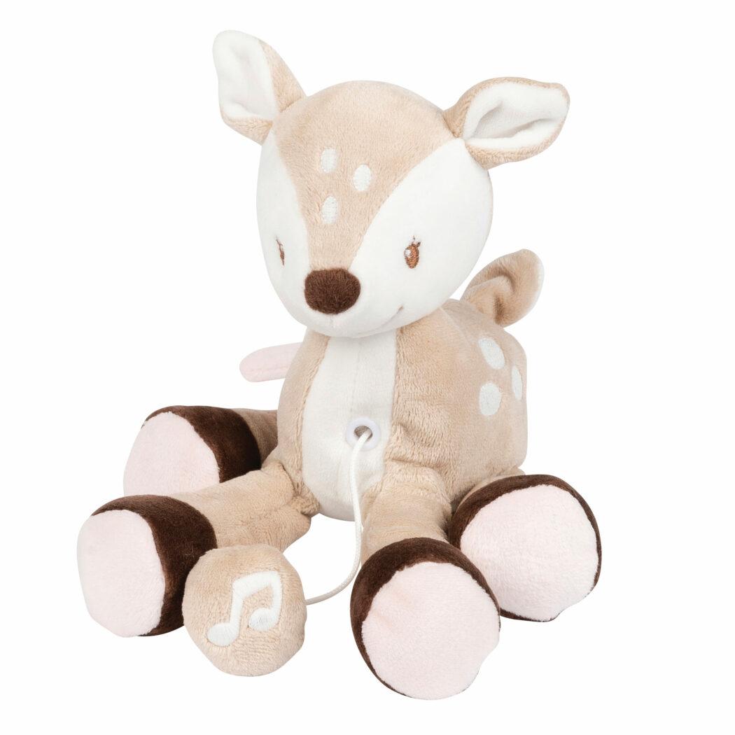 mini spieluhr reh stoff weihnachtsgeschenke babys