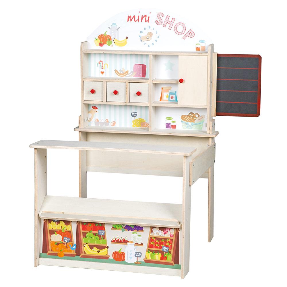 mini kaufladen kleiner kaufladen holz weihnachtsgeschenk geschenk kleinkind