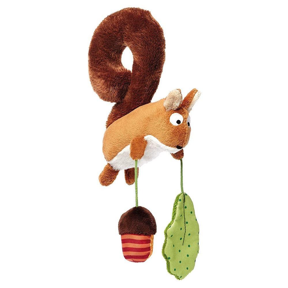 anhaenger babyschale stofftier eichhoernchen geschenk baby geburt weihnachten weihnachtsgeschenk für babys