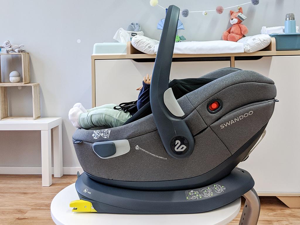 Babyschale Albert i-Size von Swandoo Testsieger ADAC Kindersitz Test 2019 beste Babyschale im Test