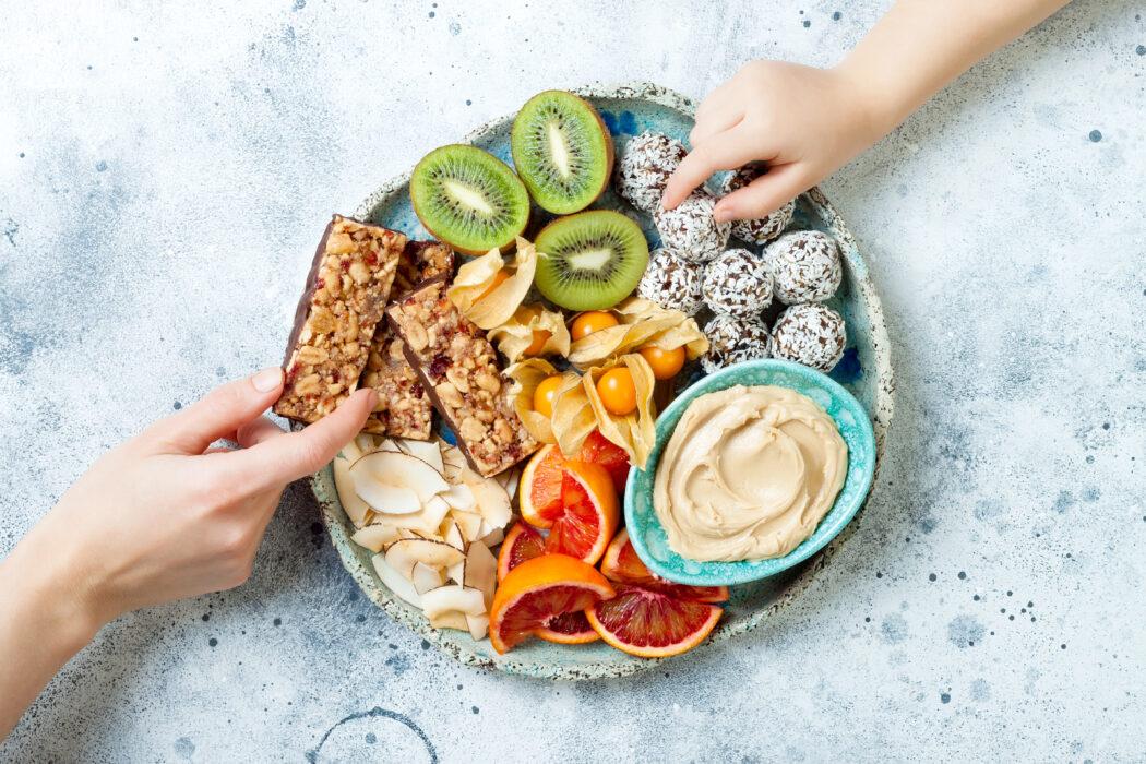 gesunde suessigkeiten snacks alternativen fuer kinder