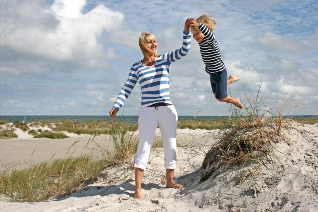 Mutter Kind Kur Ostsee Erholung Gesundheit Psyche Therapie Hilfe Eltern