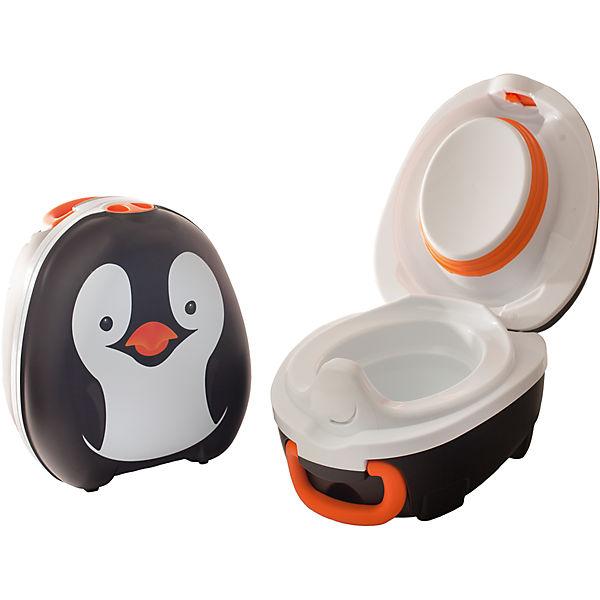 my carry potty töpfchen tragbar pinguin reisetöpfchen