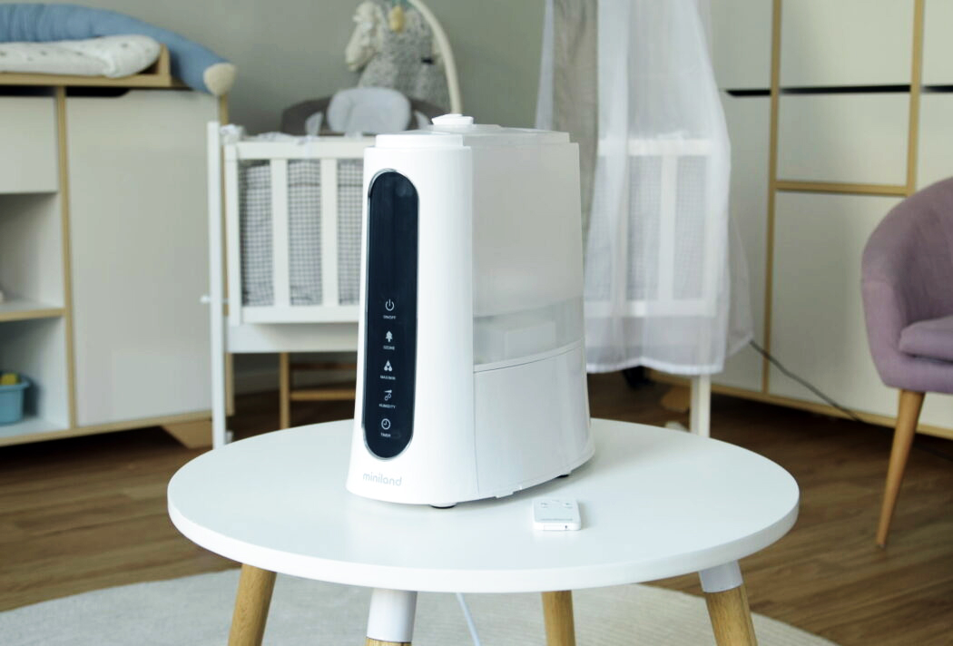 Luftbefeuchter Kinderzimmer Miniland Hunmitouch Pluure Luftreiniger