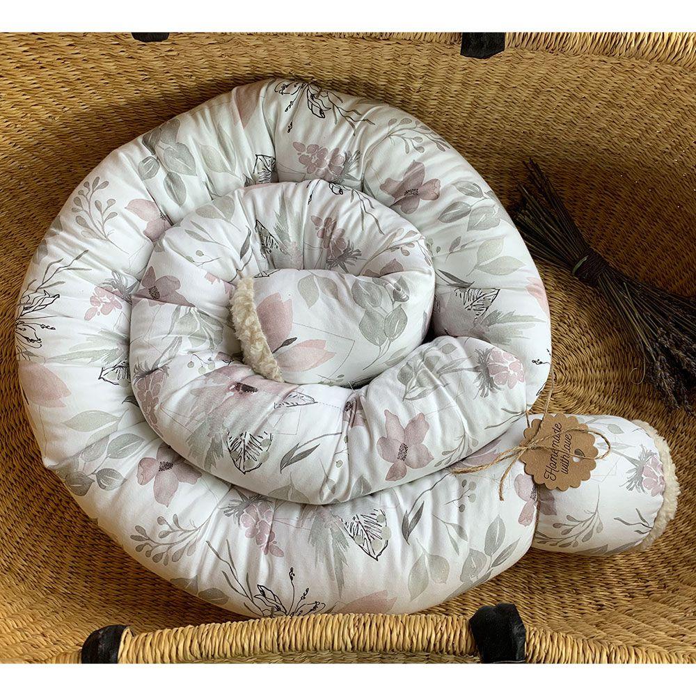 Bettschlange Babybett selbstgemacht