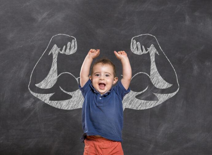 kinder stark machen kind staerke erziehung tipps
