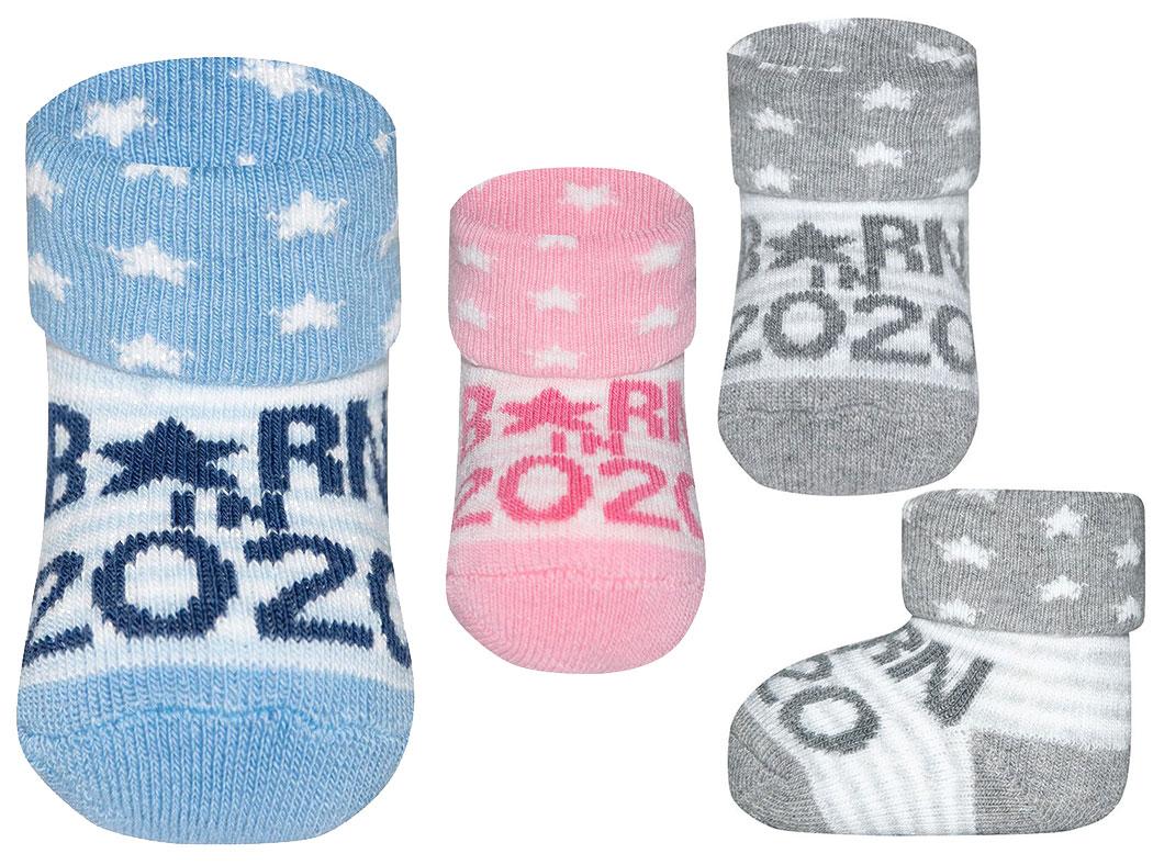 Söckchen Baby Socken Born in 2020 Ewers Geschenk zur Geburt