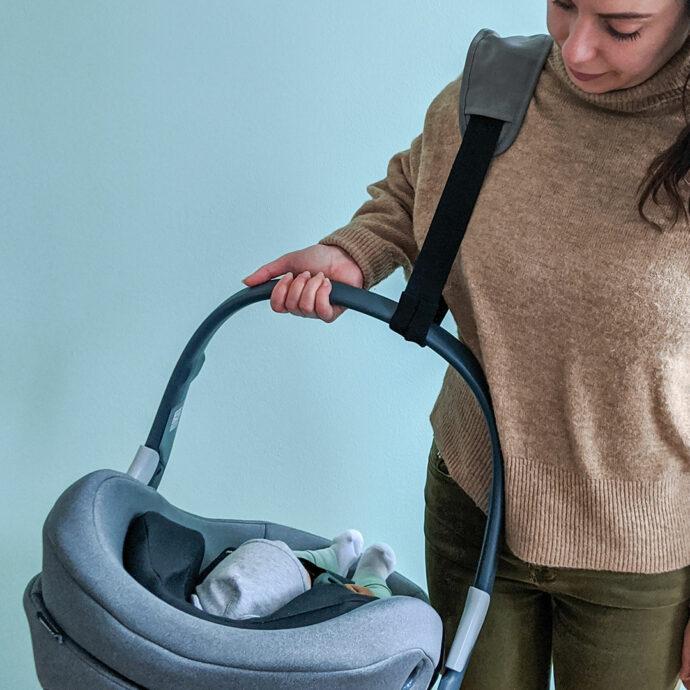 Zamboo Tragegurt Babyschale leichter tragen